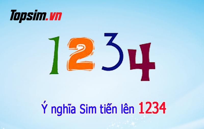 Ý nghĩa sim tiến lên 1234 - Thể hiện sự khát khao thăng tiến