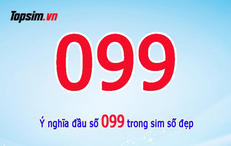 Ý nghĩa đầu số 099 - Đâu số vàng trong làng sim Việt Nam