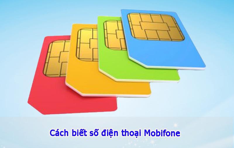 cách biết số điện thoại Mobifone đơn giản