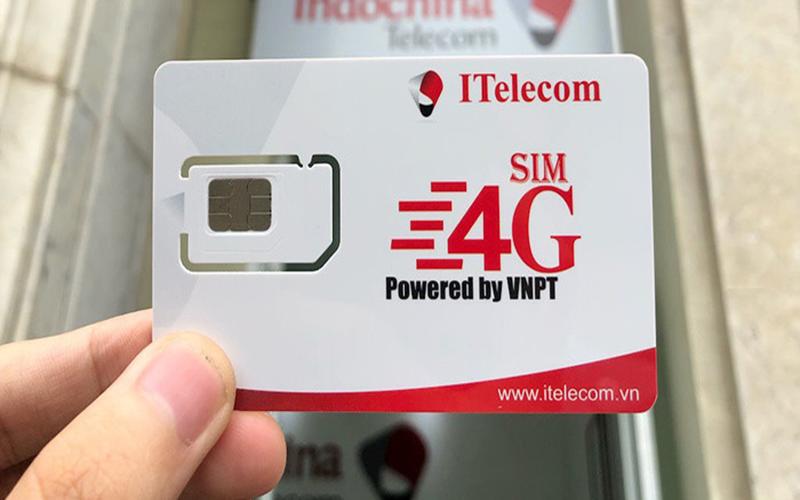 Sim 4G itelecom
