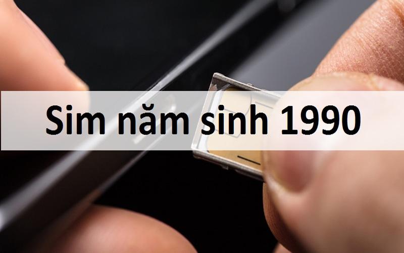 Sim năm sinh 1990 nên chọn như thế nào?