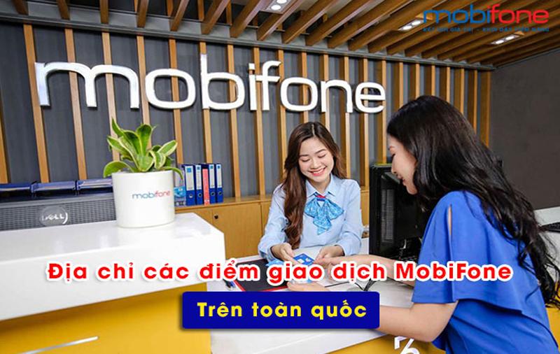 Tổng hợp điểm giao dịch Mobifone